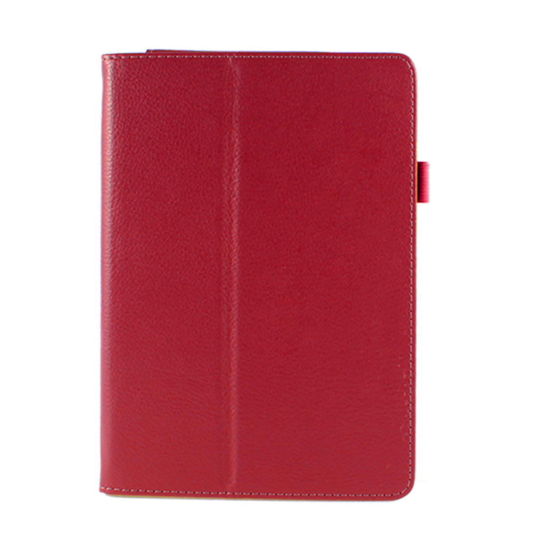 Red Faux Leather Folio Stand Case Cover for Acer Iconia Tab A1-810 7.9""