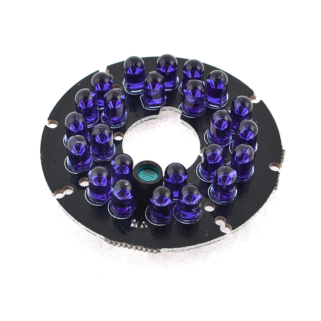 CCTV Camera 5mm Red 24 LEDs Lamp 80 Degree IR Infrared Board Blue Bulb