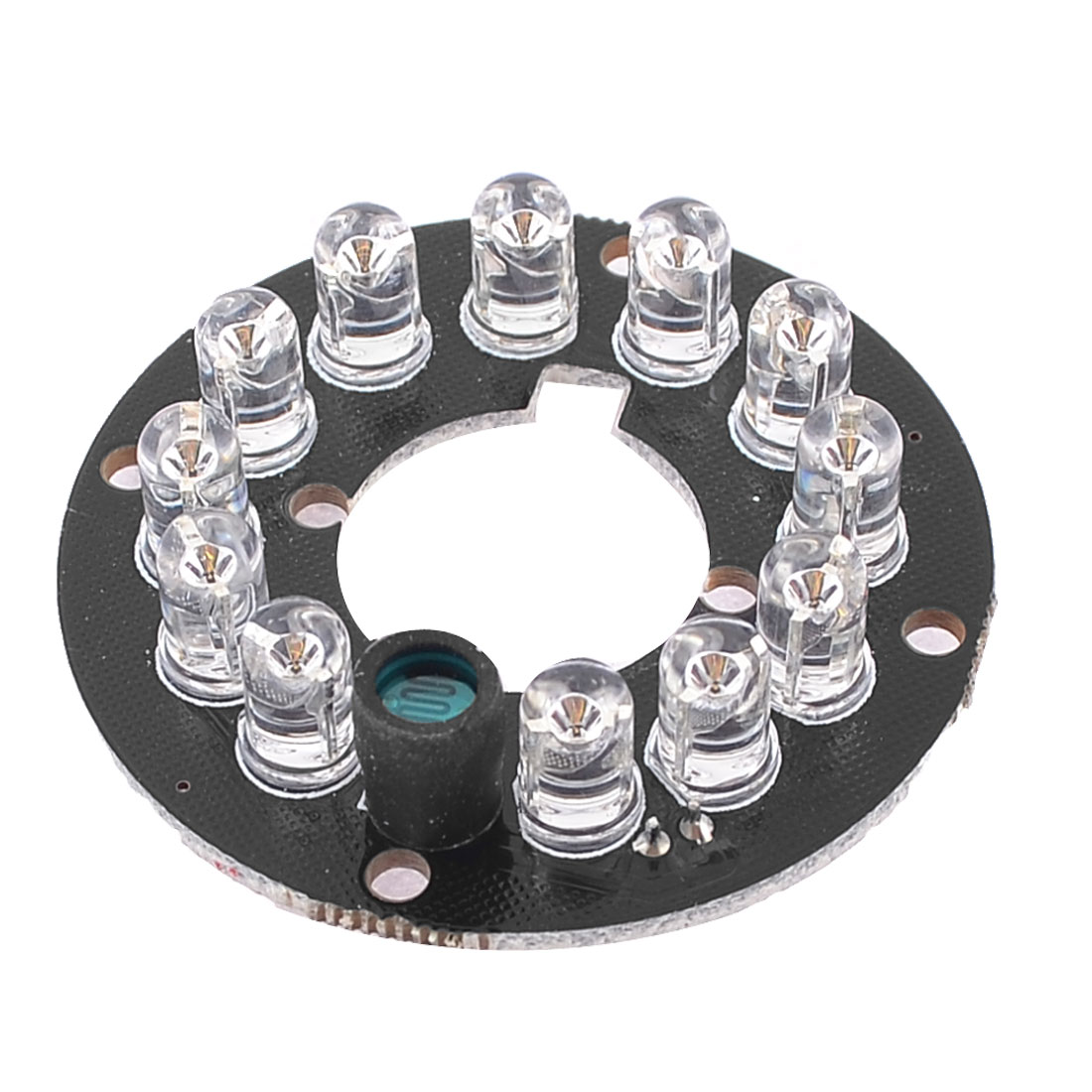 Security Camera 80 Degree Red 12 LED Infrared IR Board Plate