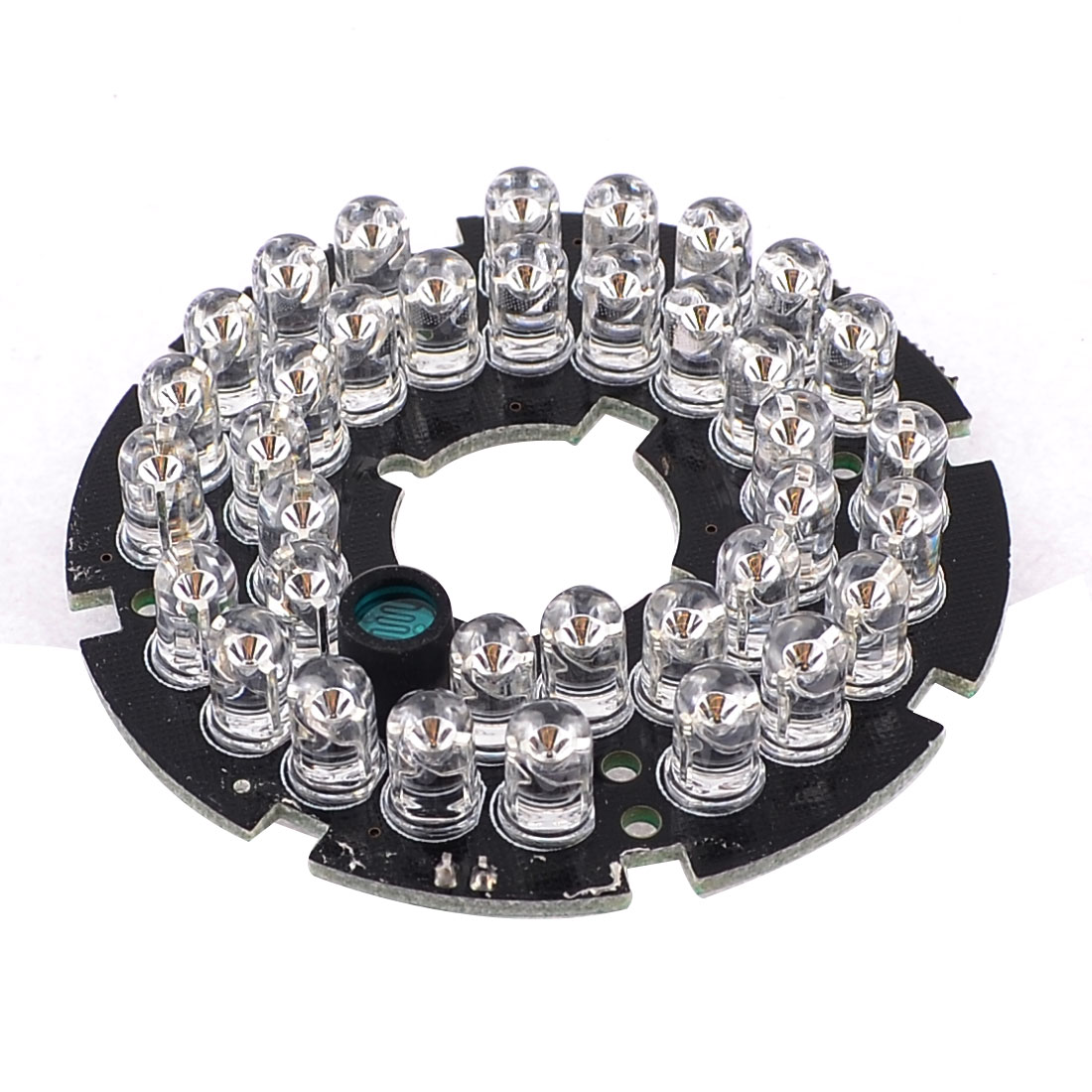 CCD CCTV Camera 5mm 36 LEDs Lamps 80 Degree IR Infrared Board