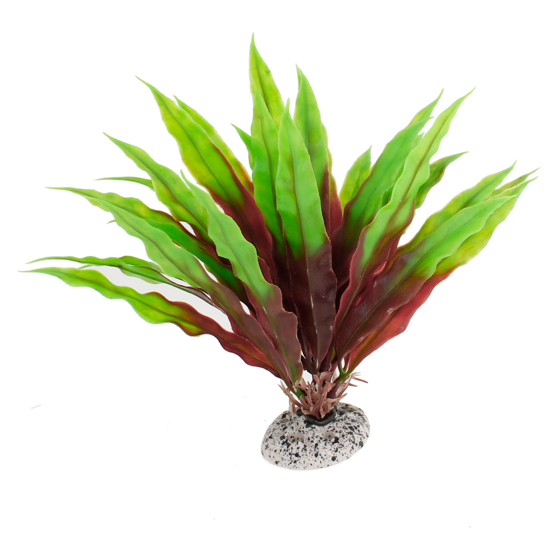 Plastic Red Green Simulation Aquatic Plant Decor for Aquarium Fish Tank