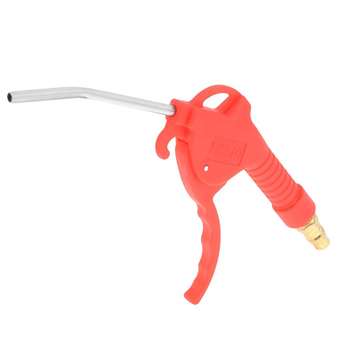 "Pneumatic Tool 3.9"" Long Curved Tip Nozzle High Pressure Air Blow Dust Gun"