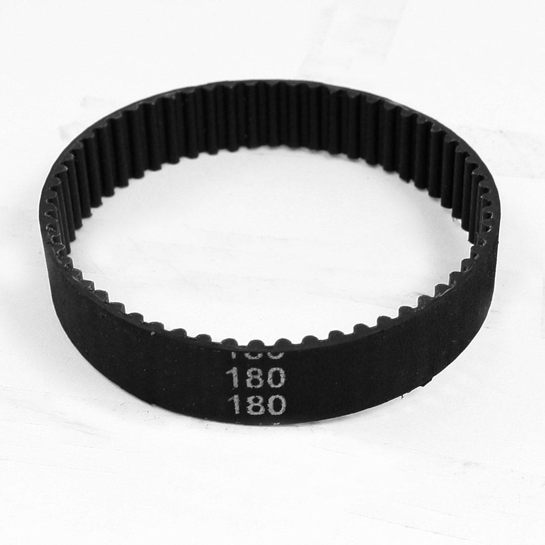Servo Motor 180mm Girth Single Side 60 Teeth Rubber PU Timing Belt