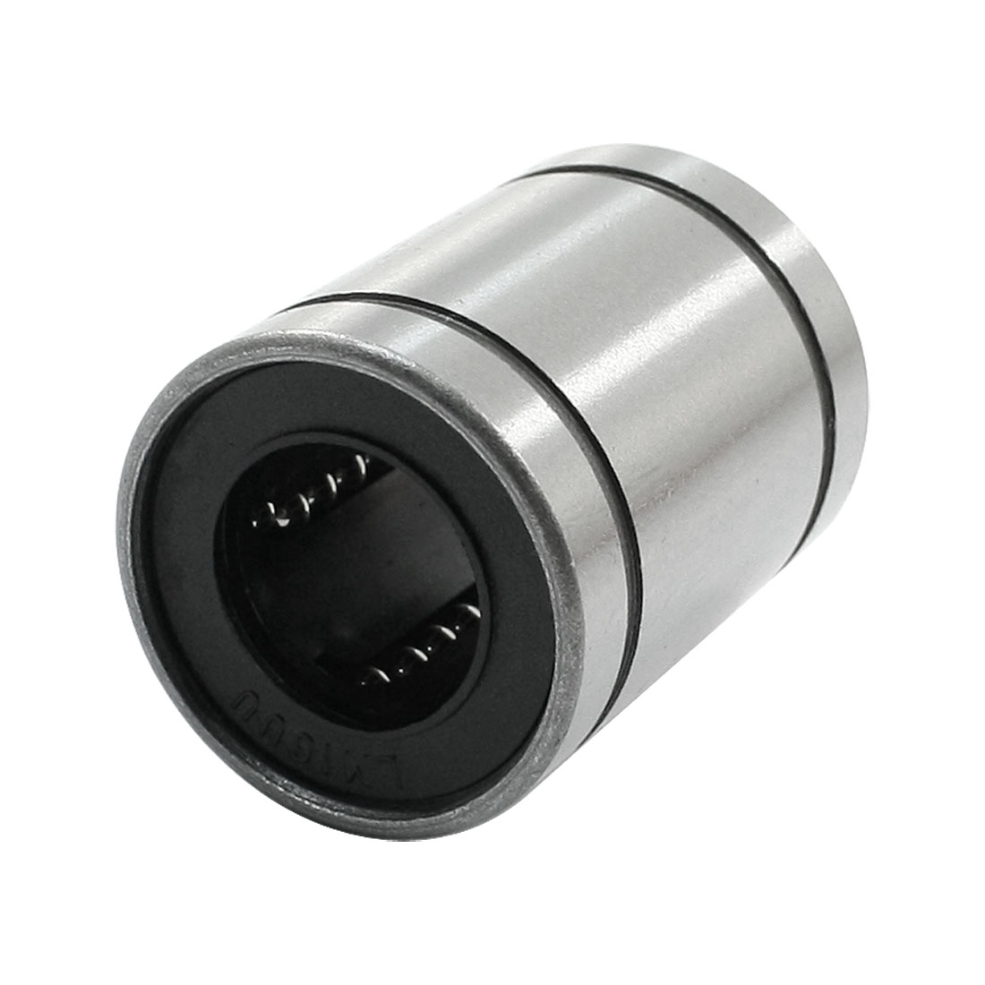LM16UU Double Side 16mm Inner Dia Rubber Seal Linear Motion Bearings