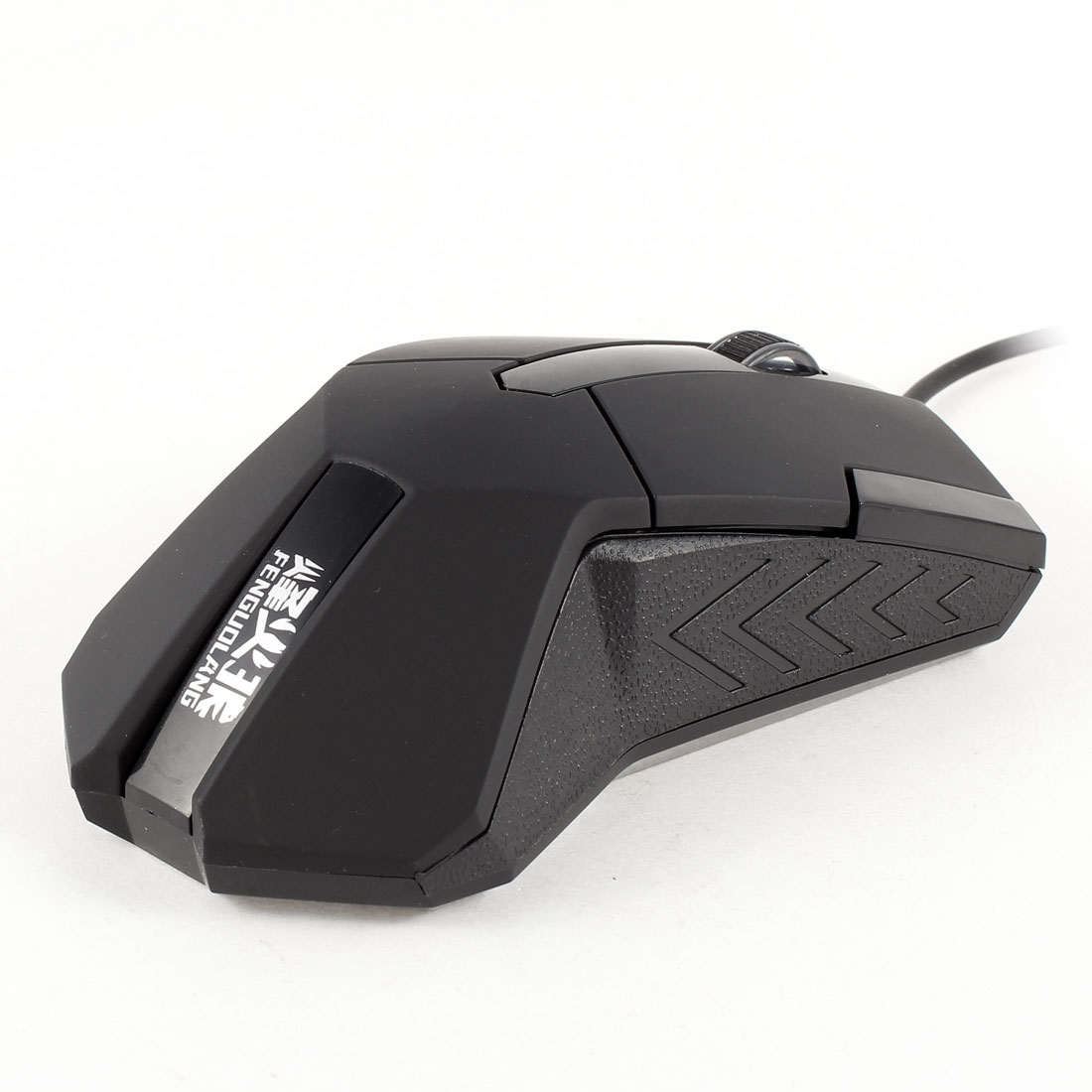 4.6Ft Cable USB 2.0 Adjustable DPI Optical Game Mouse Black for PC