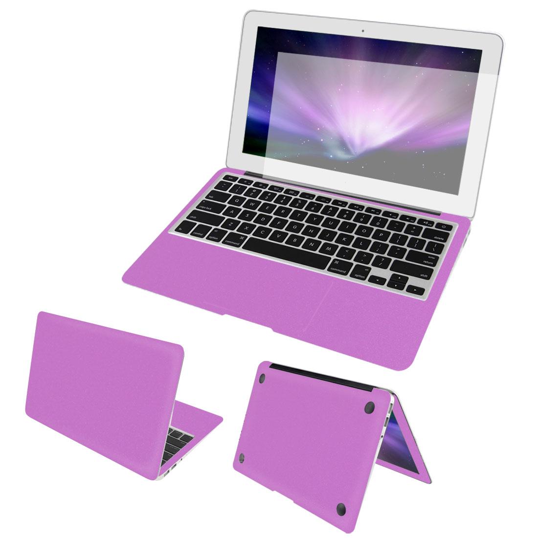 "Pink Full Body Wrap Protector Decal Skin Screen Guard for Macbook Air 13"""