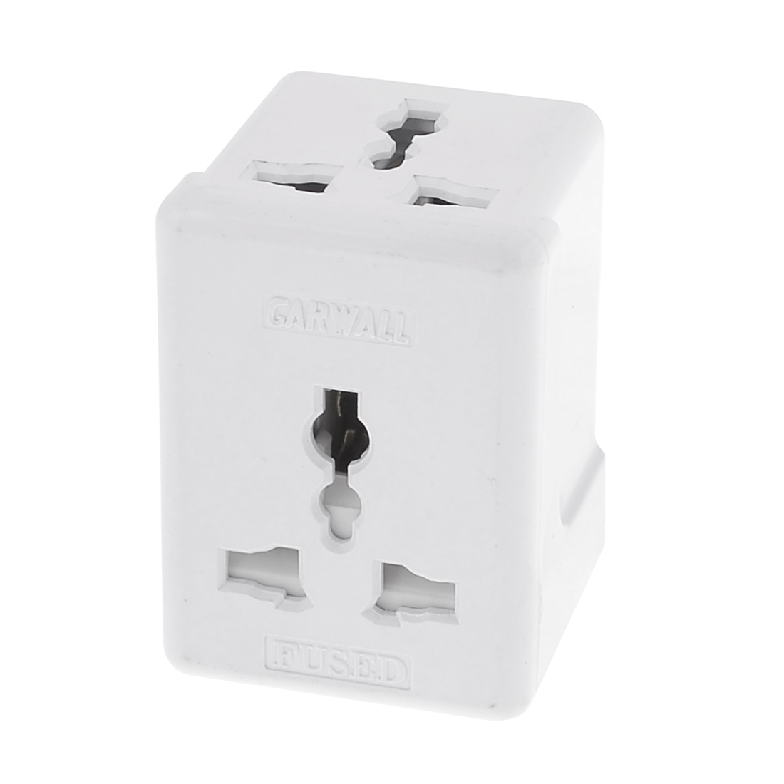 UK Plug to UK US Socket AC 250V 10A 3 Outlet Power Adapter
