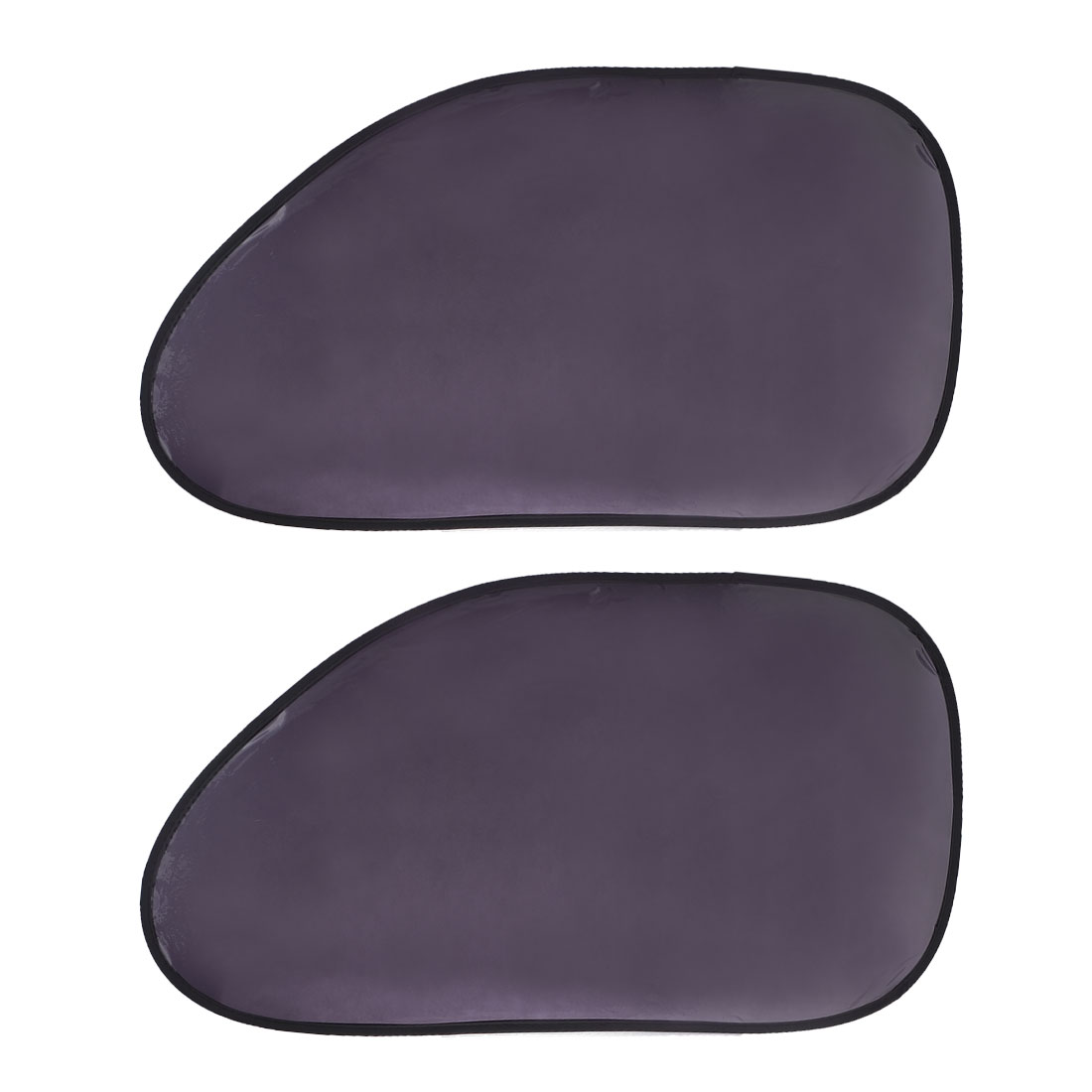 2 Pcs 66cm x 36.5cm Side Window Sun Protector UV Ray Sun Shade for Car Auto