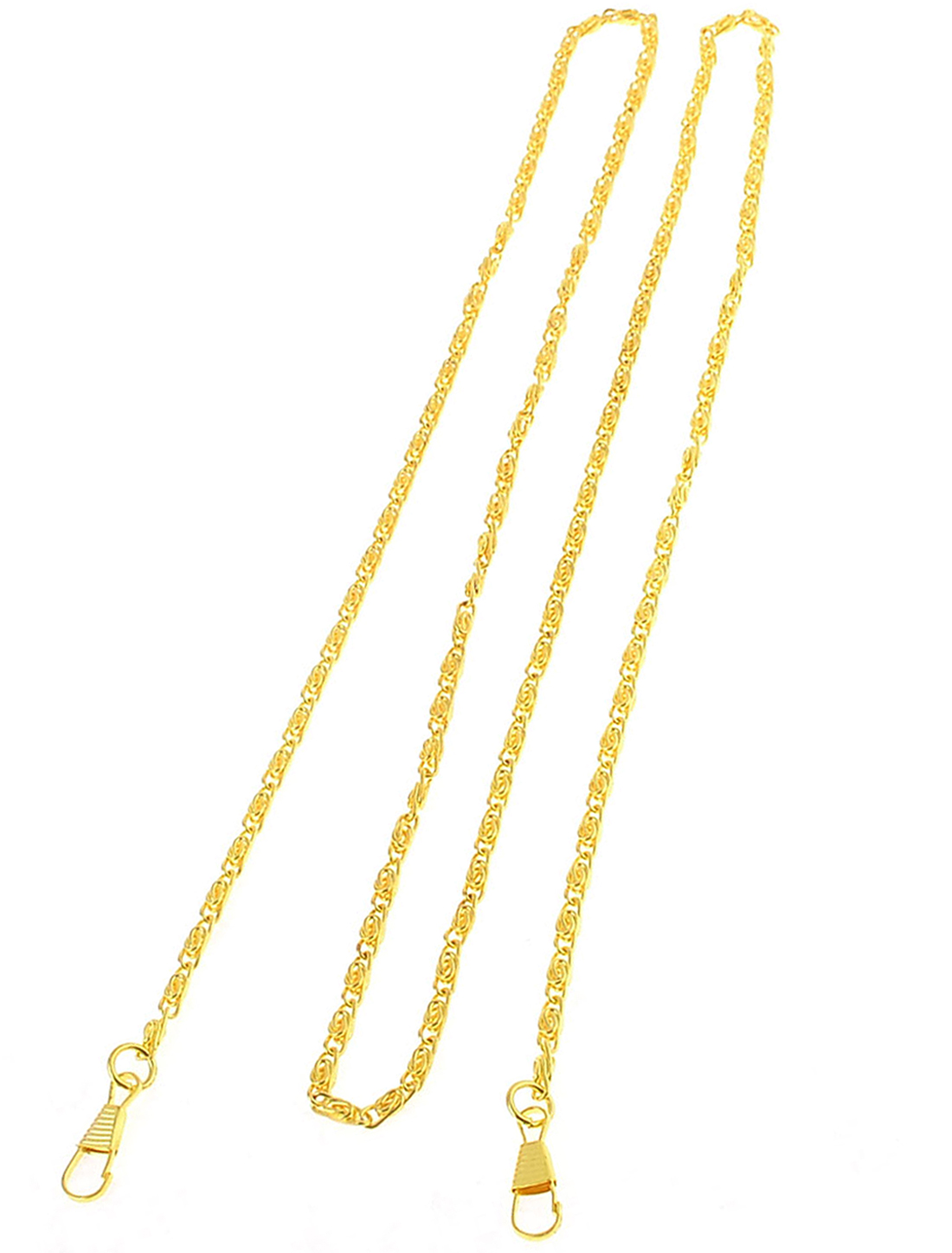 120cm Long Metallic Chain Decoration Gold Tone for Handbag Bag