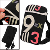 Lovely Black Numbers Prints Cross-Body Bag for Children
