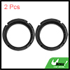 "6.5"" Inch Car Black Plastic Speaker Spacers Round 2 Pcs for Volkswagen"