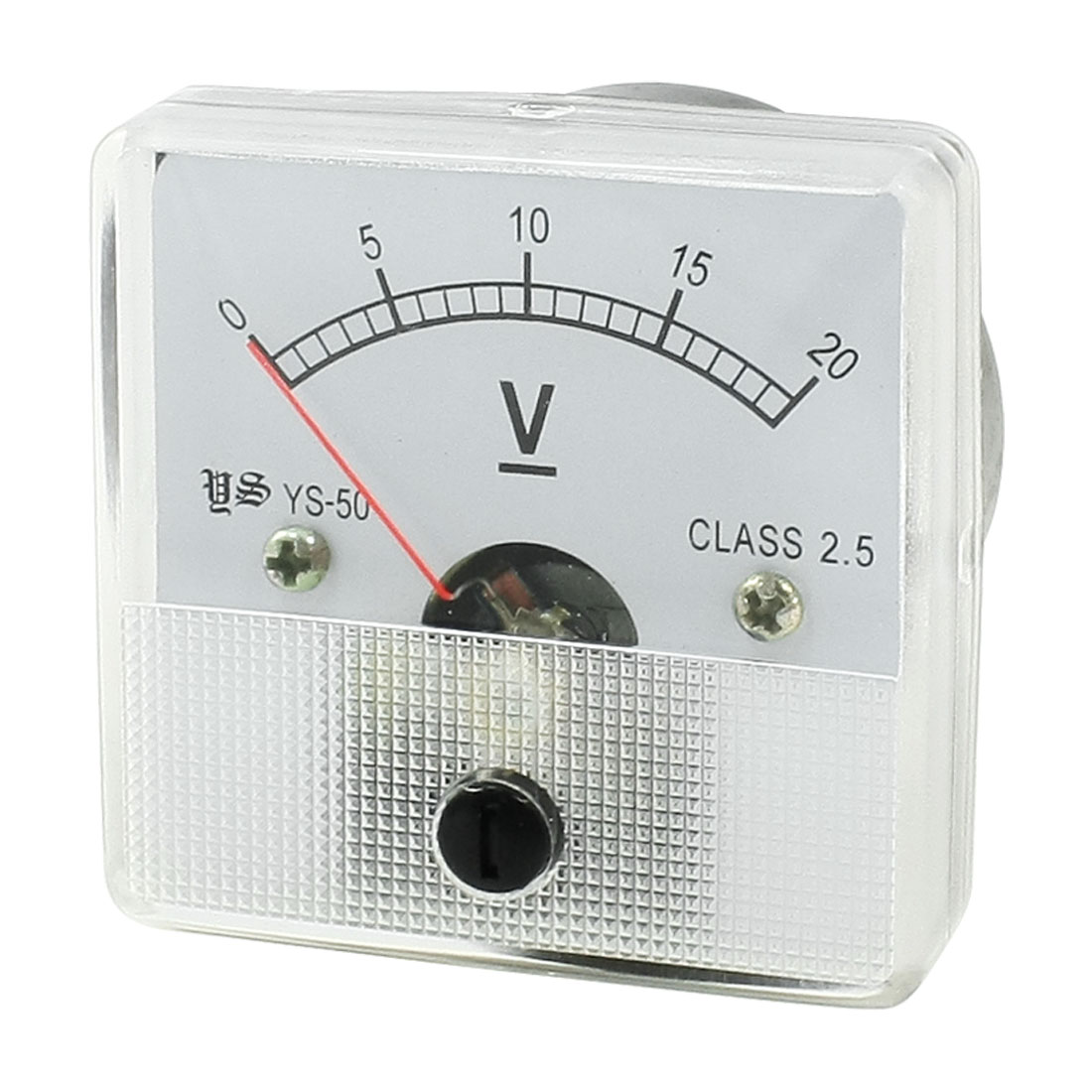 Class 2.5 Accuracy DC 0-20V Analog Voltage Panel Meter YS-50