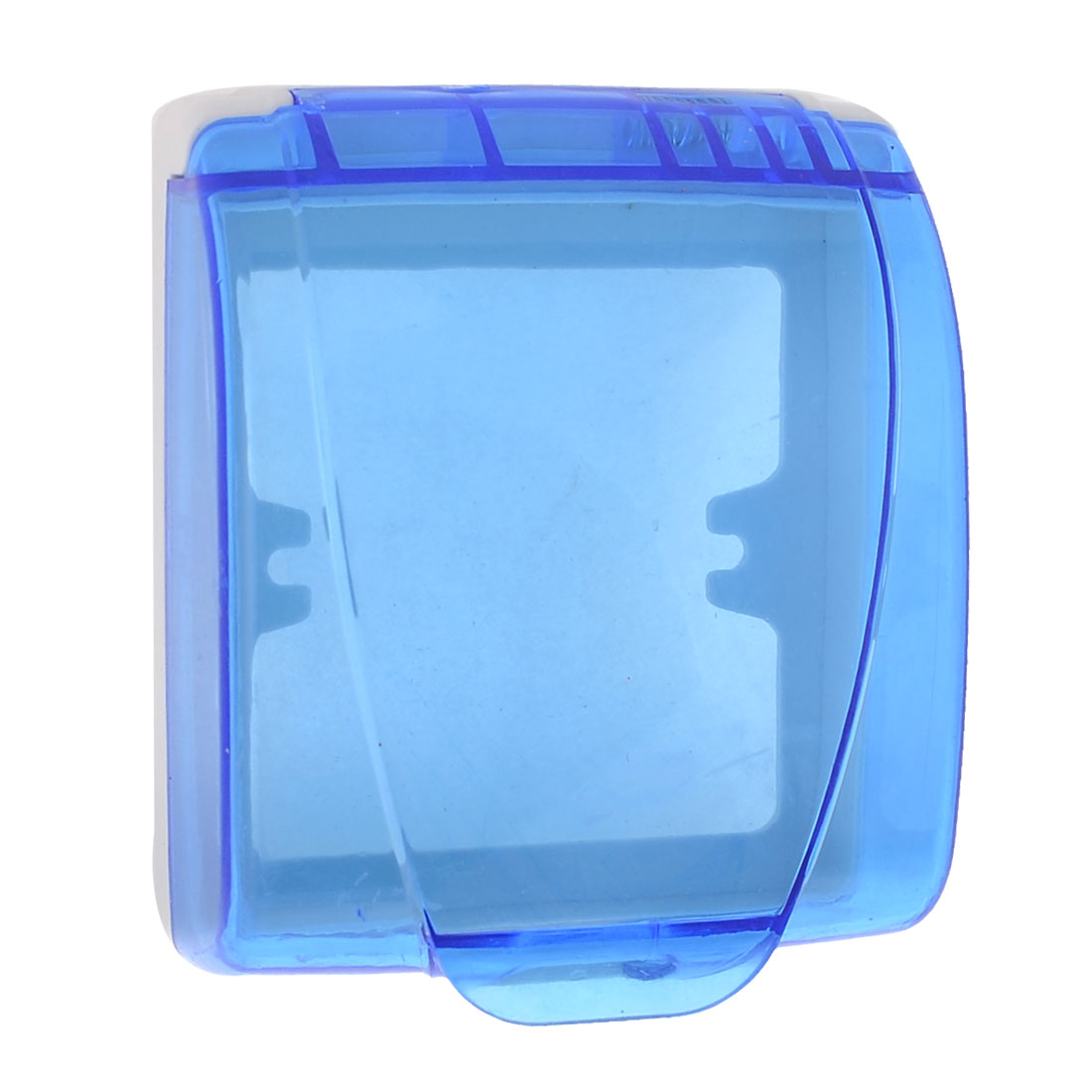 Wall Switch Flip Lid Blue Splash Proof Cover Box
