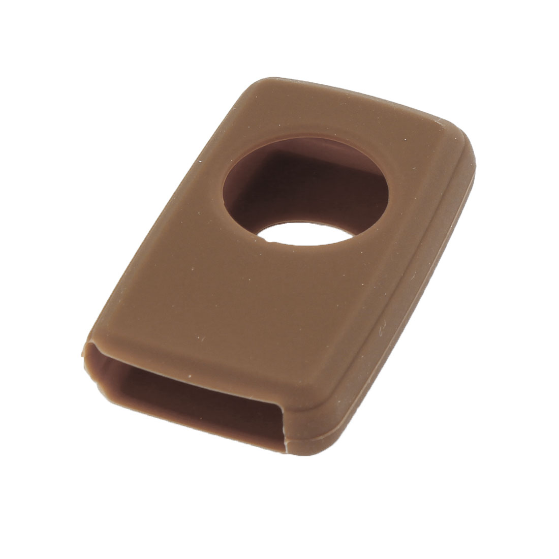 Brown Soft Silicone Car Remote Key Bag Cover for Toyota