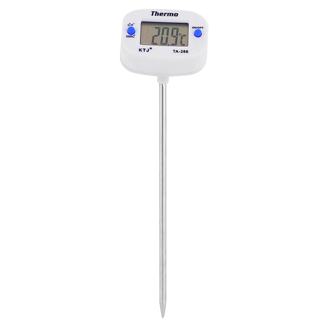 -50C to +300C Needle Tip Cooking Food BBQ Dual Reading Digital Thermometer