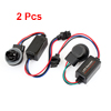 2 Pcs Vehicle Car Light 3157 LED Decoder Anti Flicker Warning Canceller Balck