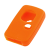 Orange Entry Car Remote Fob Silicone Key Cover for Toyota