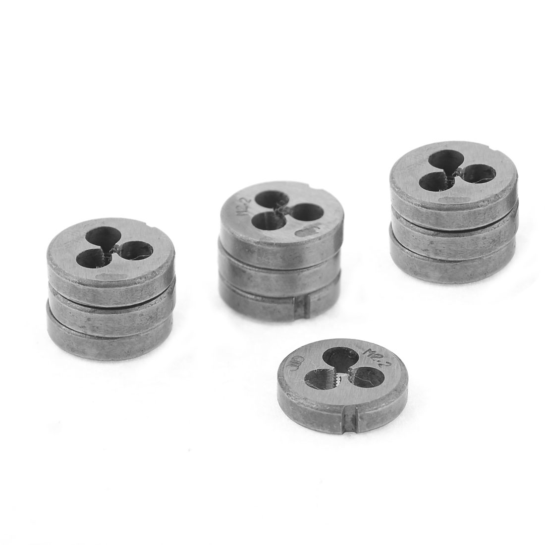 10 Pcs 16mm Outside Diameter 1.9mm Pitch M2.2 Coarse Round Thread Die
