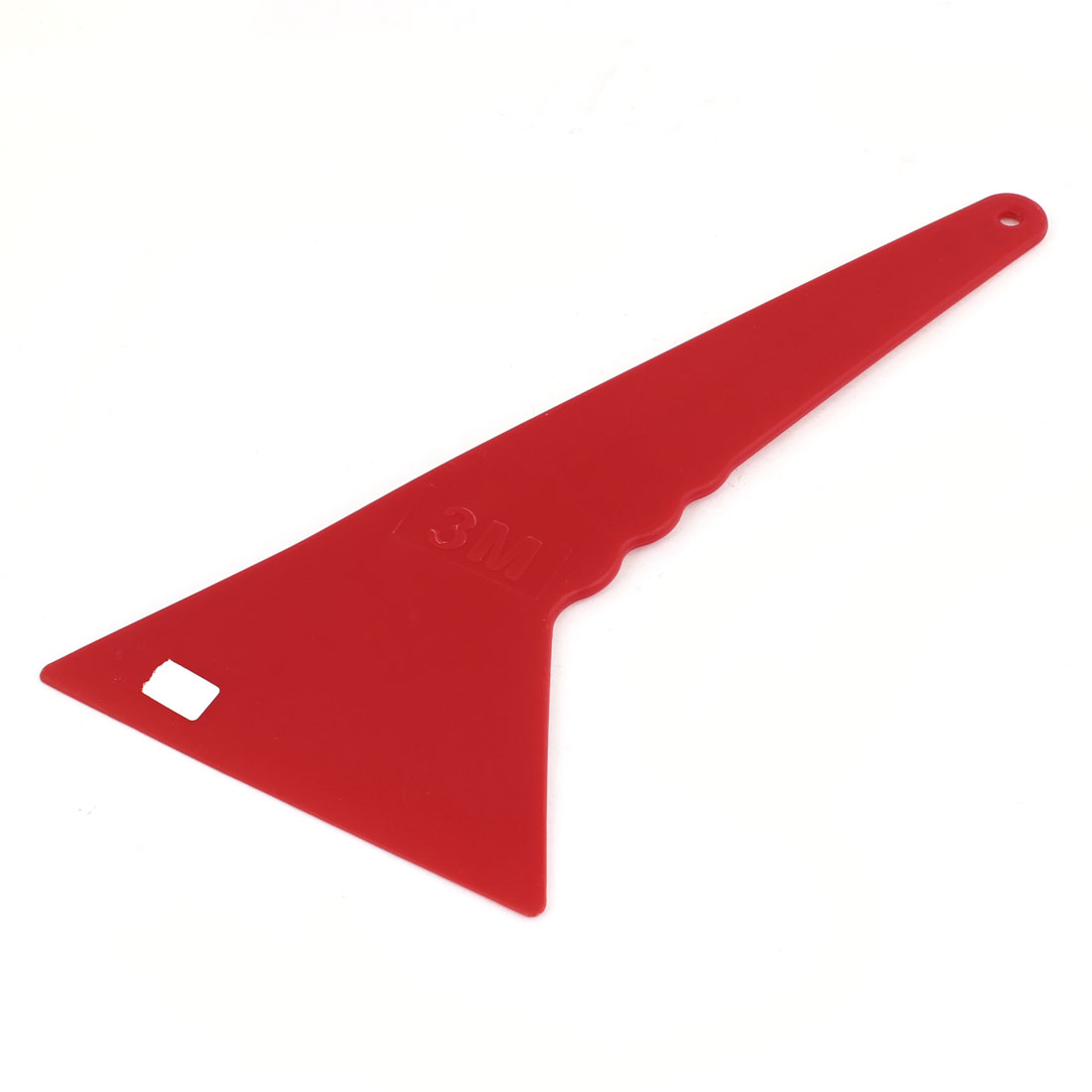 Car Red Plastic 13.5cm Blade Width Window Windshield Tint Film Scraper Tool
