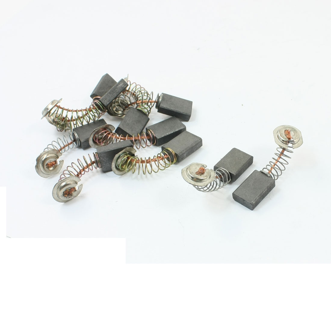 15mm x 11mm x 5mm Motor Carbon Brushes Replacement 10Pcs