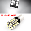No Error 1156 White 5050 30 SMD LED Light Brake Lamp Bulb for Car