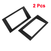 2 Pcs Auto Plastic Audio DVD CD Stereo System Holder Frame for Mondeo Ford