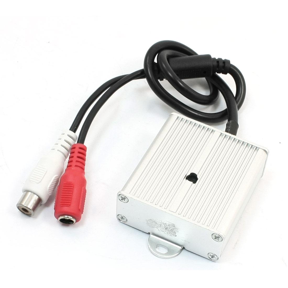 DC 6V-12V 10mA Audio Micro Subtle Sound Monitor Monitoring Pick-up