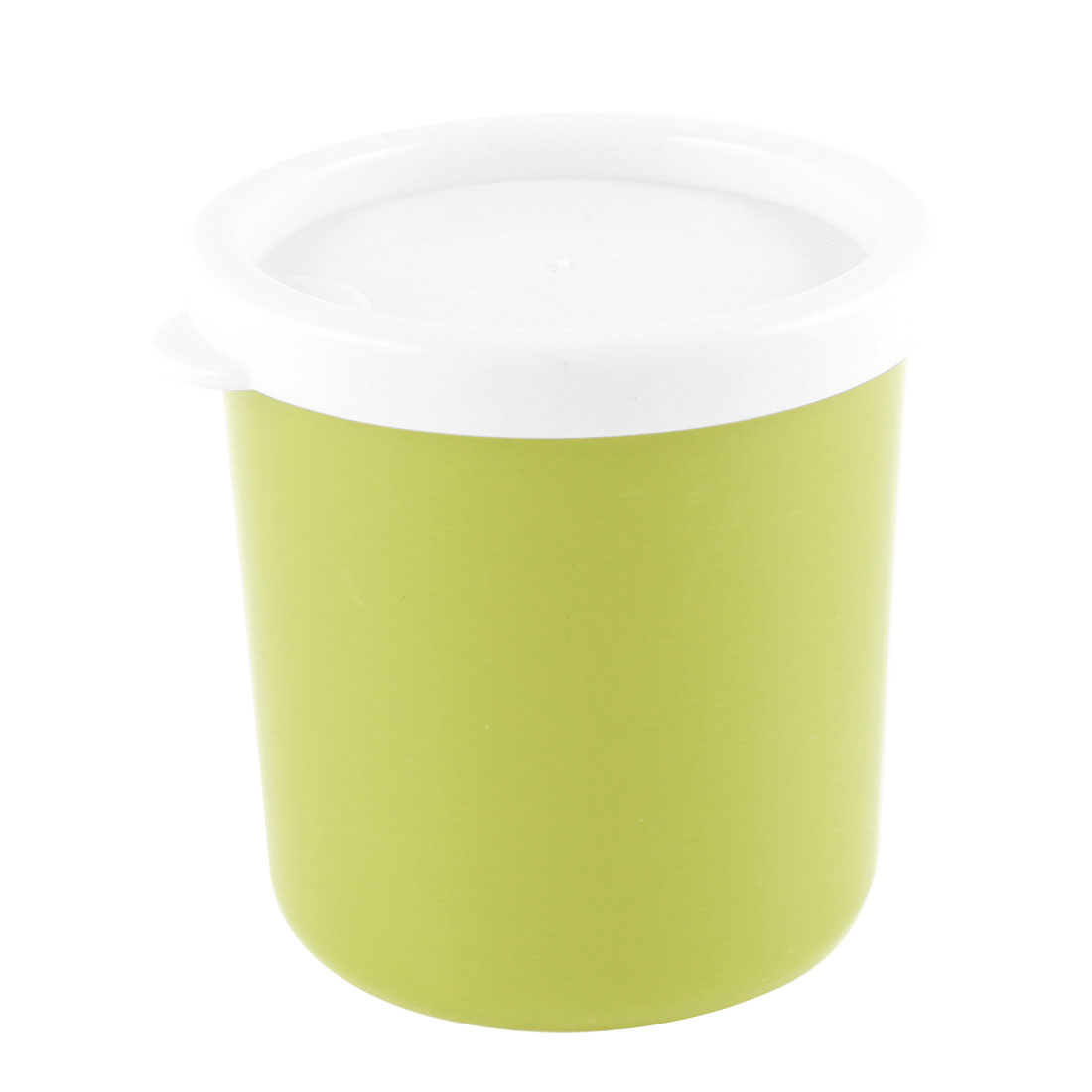 Compact Lime Plastic Round Mini Preservation Keeping Fresh Box 210ml