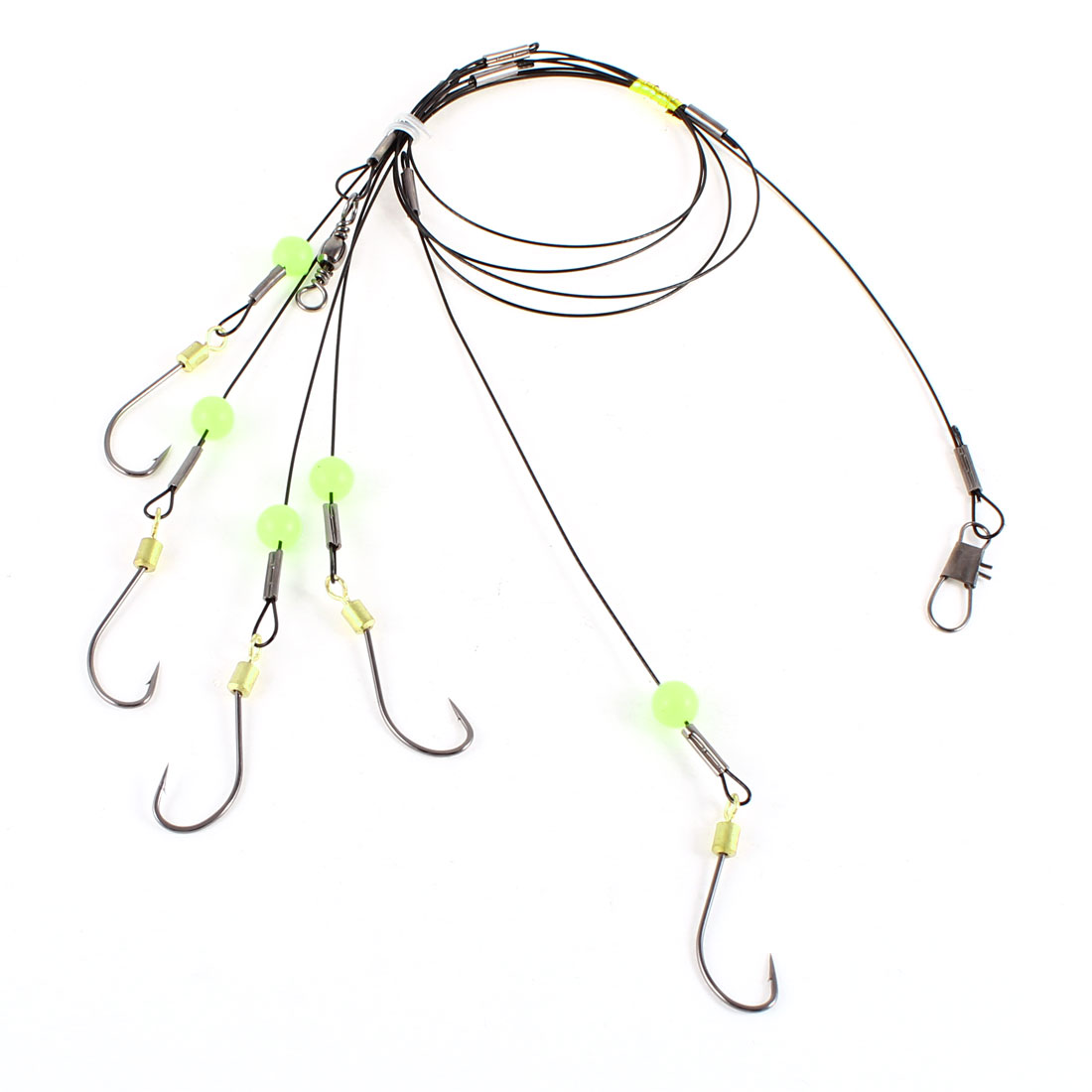 Fishing Rig Line Size 18# Hook Connector Wire Leader Replacements