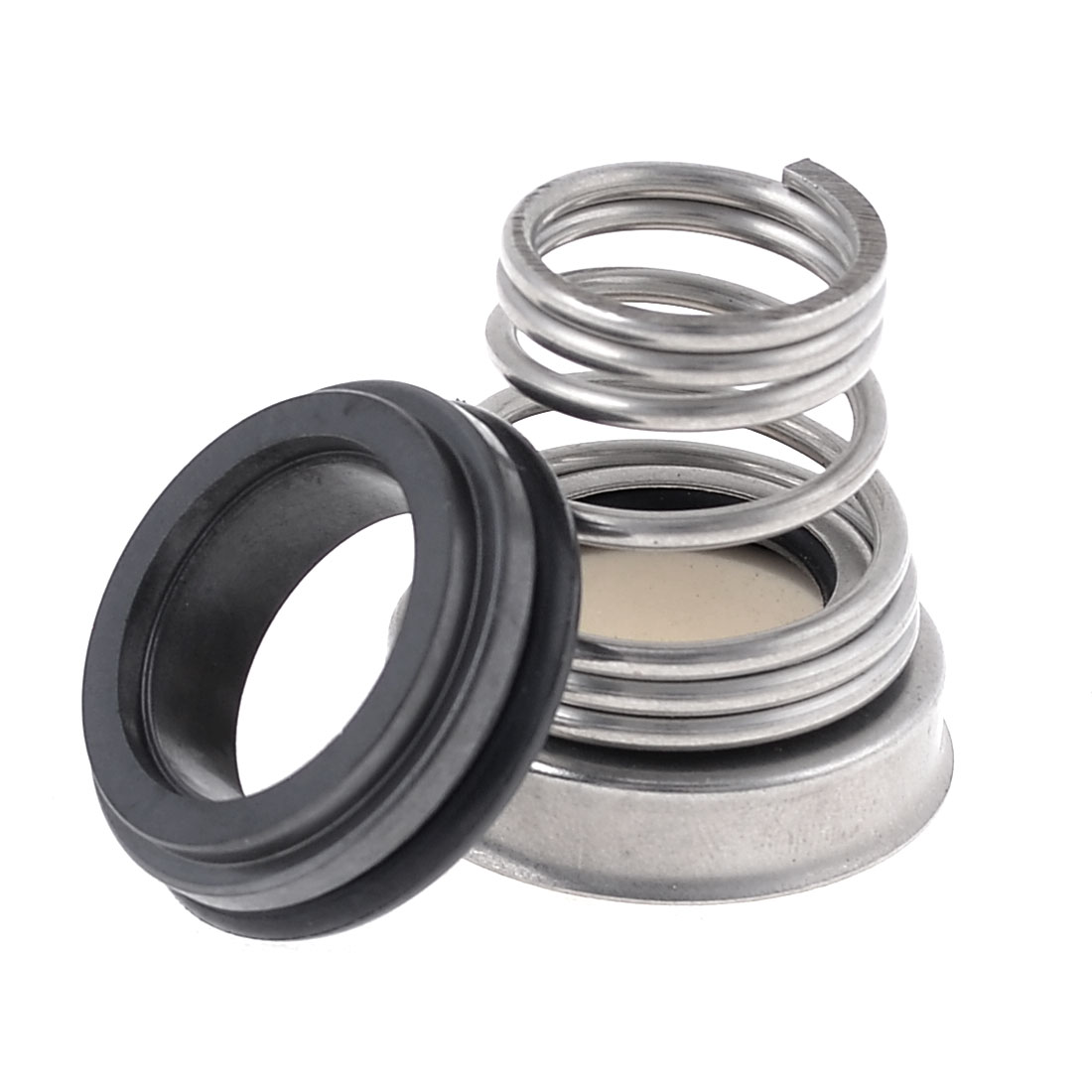 Water Pump Single Helical Spring Ceramic Base 16mm Dia Mechanical Seal