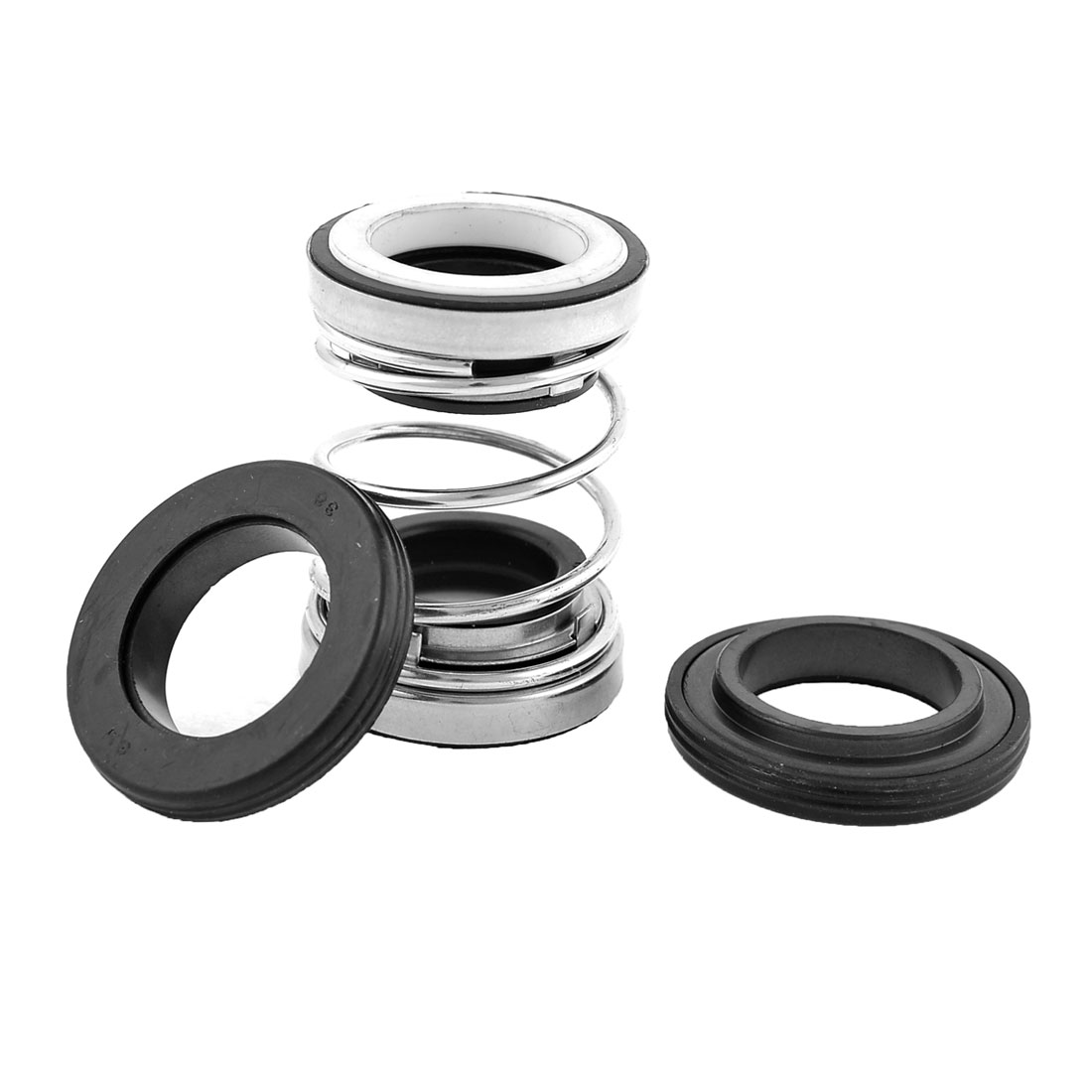 Rubber Bellows Ceramic Rotary Ring Mechanical Shaft Seal 19mm Dia for Pumps
