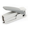 School Hand Press Type Stapling Machine Paper Binder Stapler Light Gray