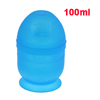 Hairstylist 30z 100ml Two Way Screw Type Blue Plastic Mix Measure Cup