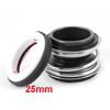 "Single Coil Spring Water Pump Mechanical Shaft Seal 0.98"" Dia"