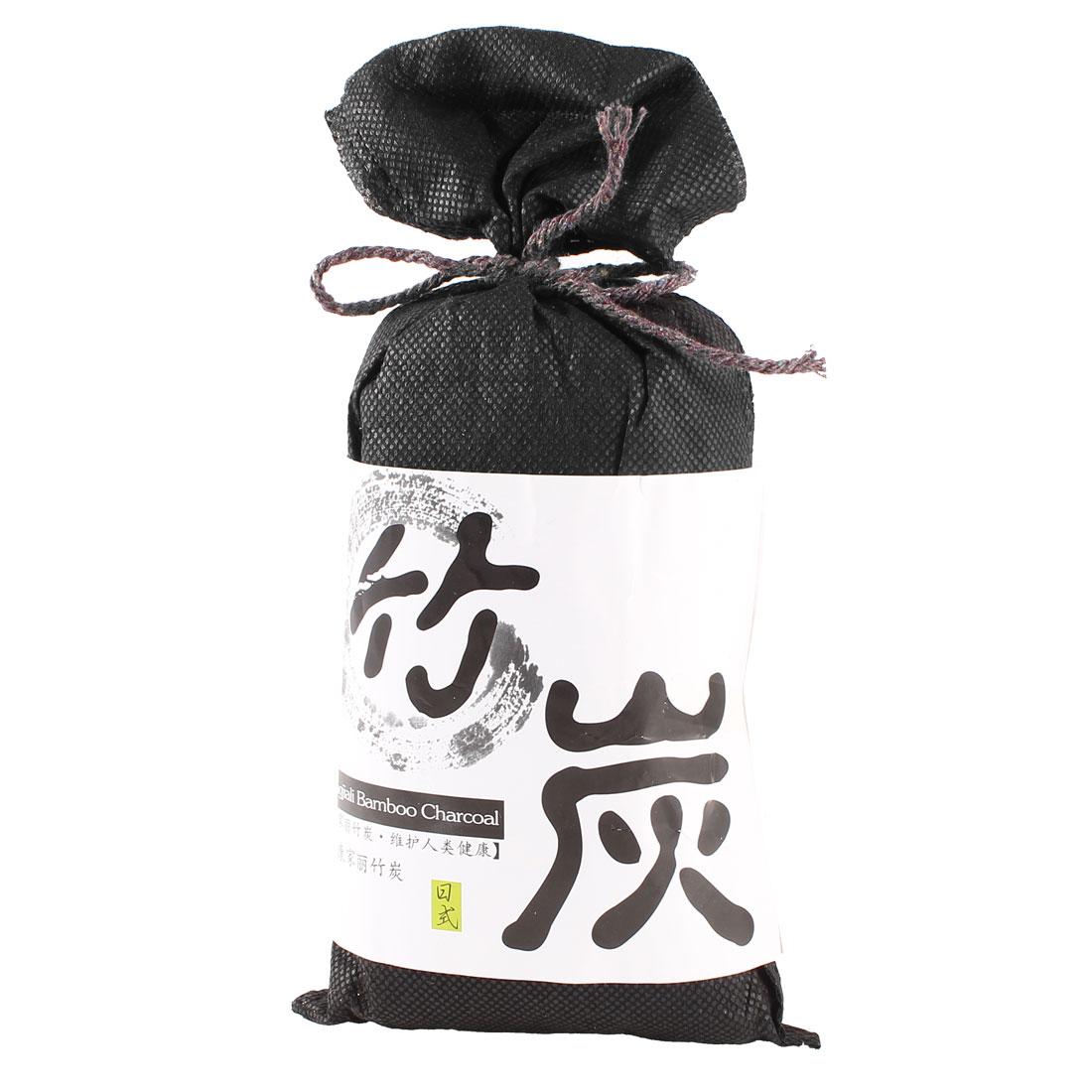 Black Bag Bamboo Charcoal Carbon Refresh Air Odor Freshener for Car