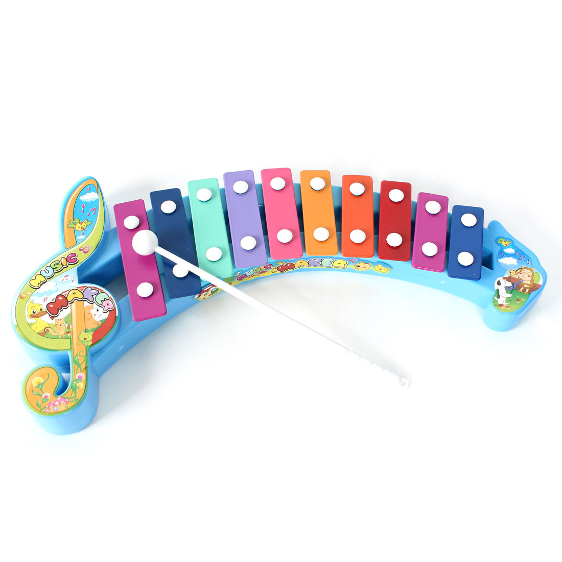 Note Shaped Baby Knocked Serinette Music Maker Musical Instrument Gift