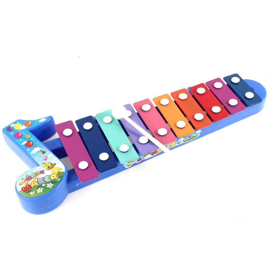 Straight Note Design Baby Knocked Serinette Music Maker Musical Instrument Gift