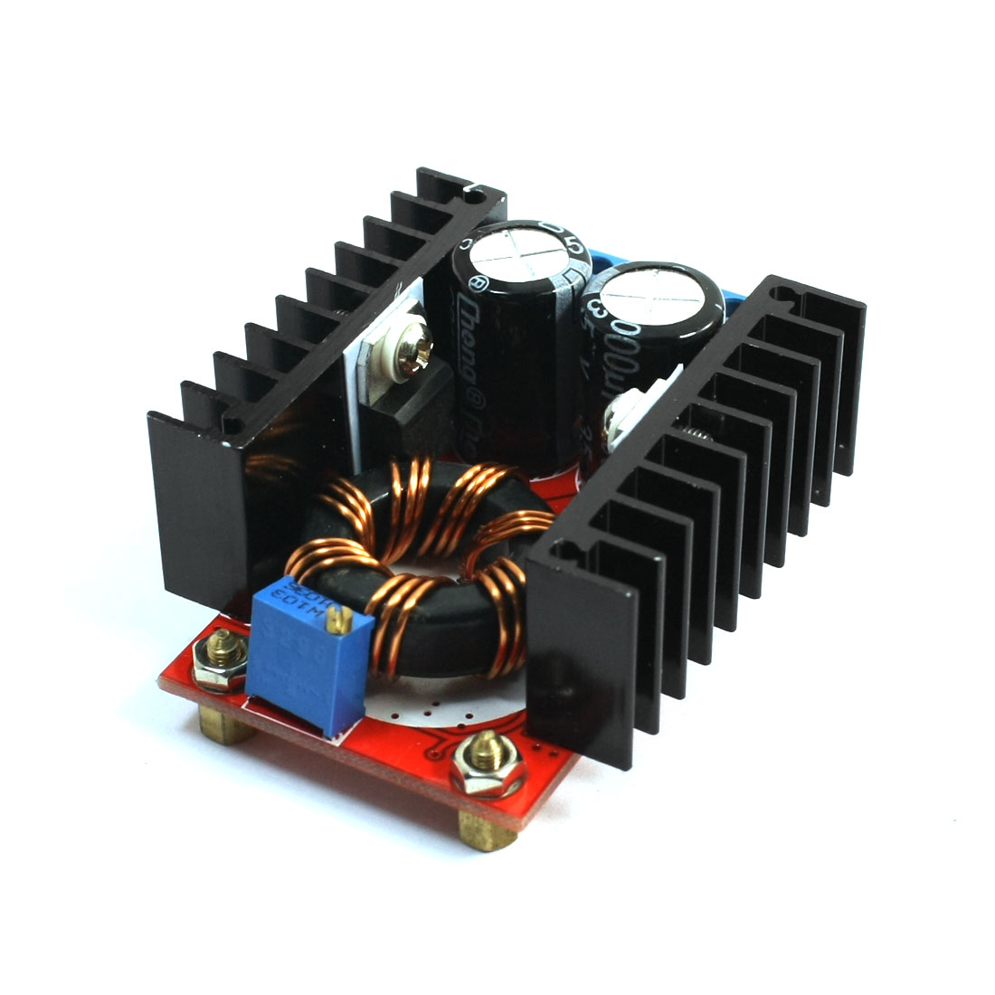 DC10-32V to DC12-35V 120W Set-up Adjustable Power Supply Boost Module 65x48x24mm