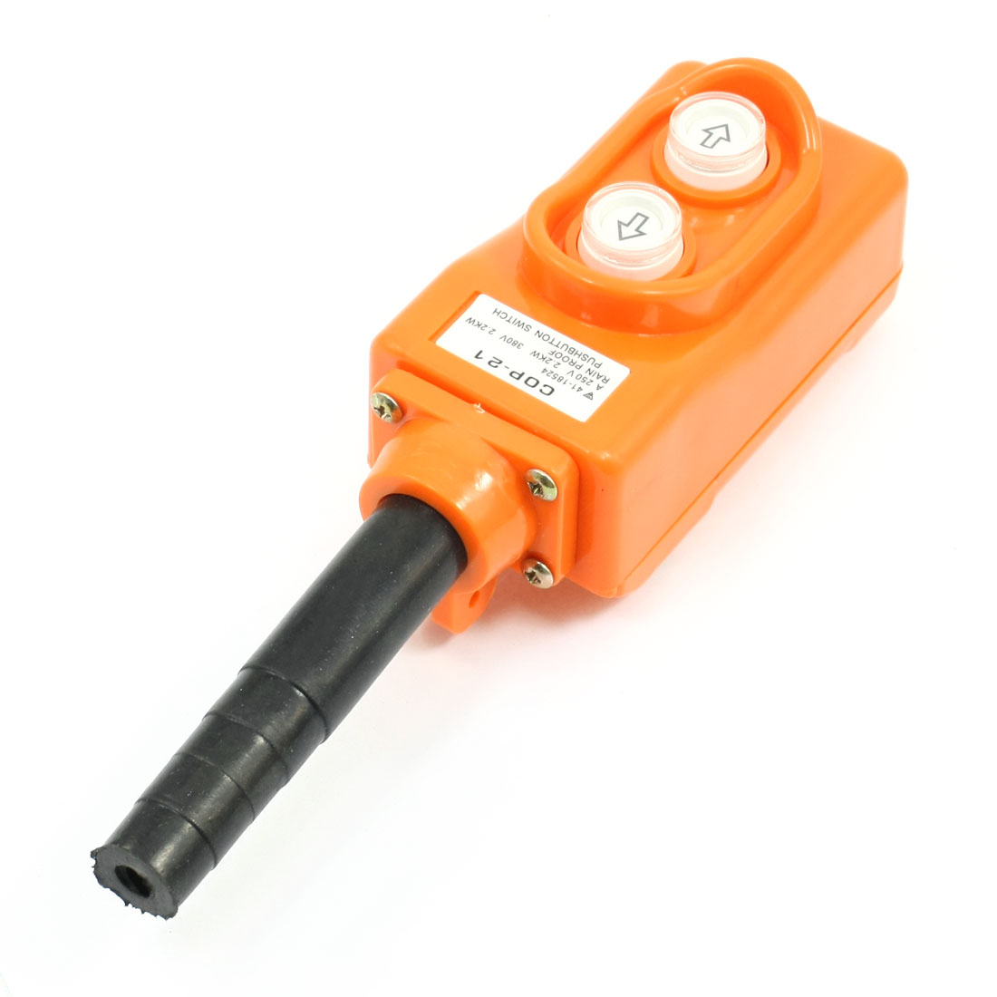 Up-Down Rain Proof Hoist Crane Pendant Pushbutton Switch