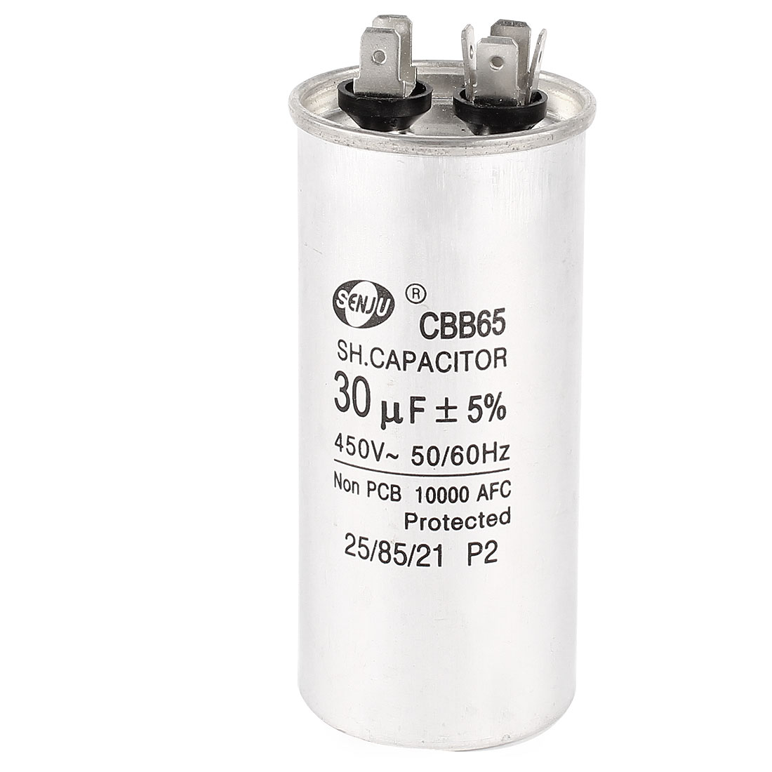 450VAC 30uF CBB65 Non Polar Motor Run Capacitor for Air Conditioner
