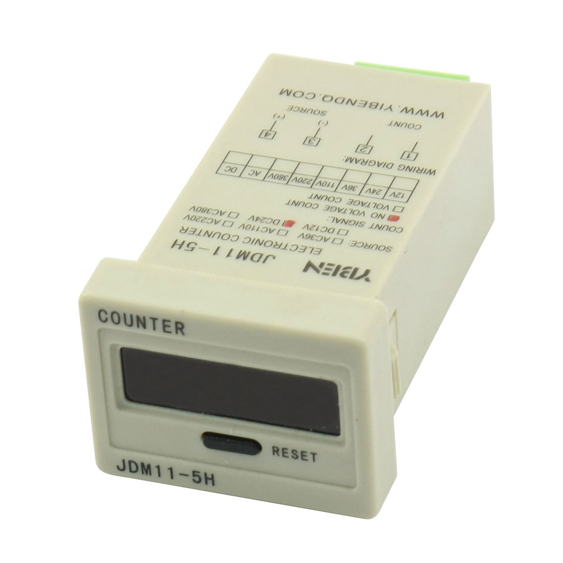 DC 24V 0-99999 5 Digit Pressing Reset Accumulating Counter