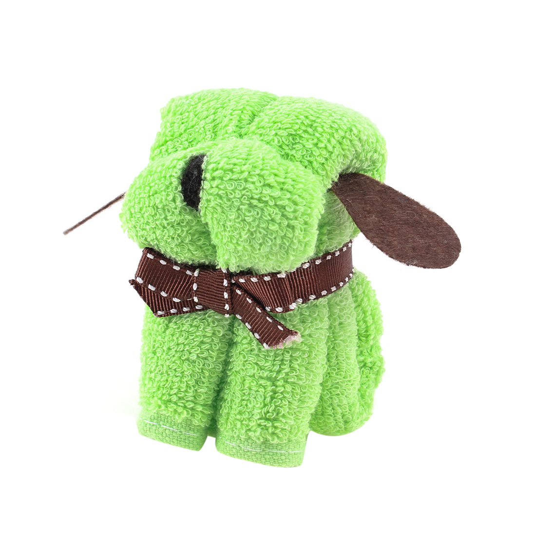 Xmas Wedding Party Green Doggy Puppy Style Towel Terry Washcloth Decor