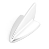Auto Car Universal Shark Fin Shape Roof Decorative Dummy Antenna Aerial Gray