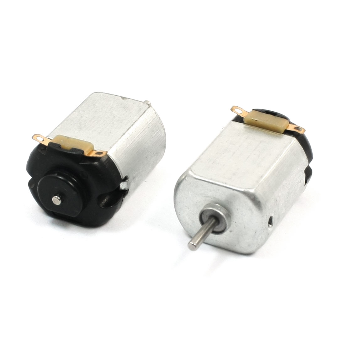 RC Airplane 2 Pin Electric Magnetic Mini Motor 19000RPM DC 3-6V 2pcs