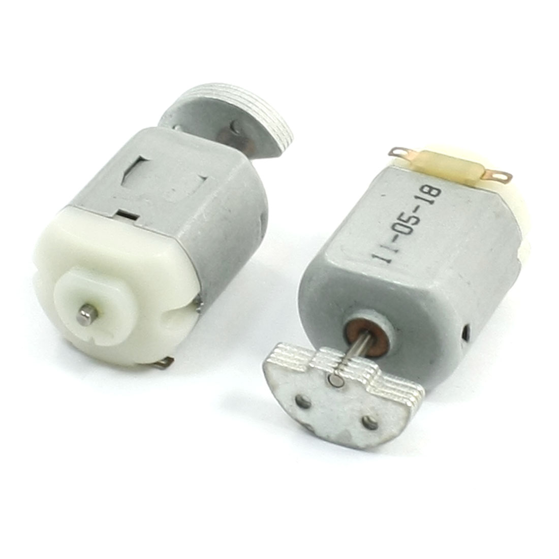 2pcs D Shape Shaft Cylinder Electric Mini Vibration Motor 5200RPM 3VDC