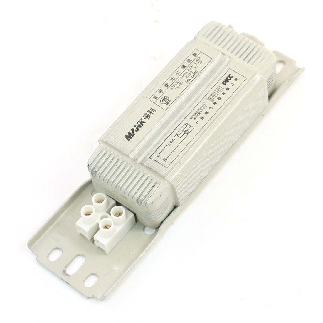Power Electronic Ballast AC 220V 0.43A for 40W T8 Fluorescent Stripe Tube Lamp