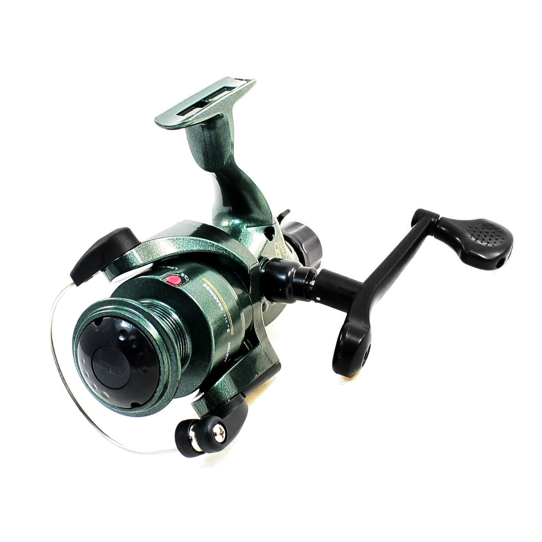 Gear Ratio 5.1:1 Fishing Spinning Bearing Reel Spool Olive Green