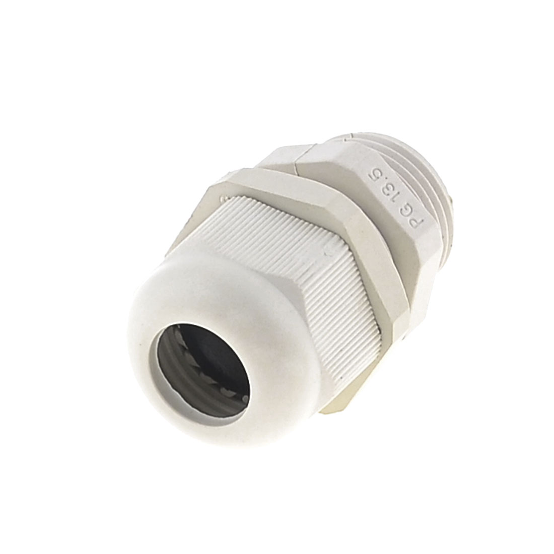 Beige Plastic PG13.5 Waterproof 6mm to 12mm Cable Gland Fastener