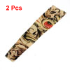 Khaki Nylon Sun Protection Temporary Tattoo Arm Sleeve Oversleeve 2 Pcs