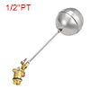 "Pool 1/2""PT Thread Liquid Level Sensor Stainless Steel Floating Ball"